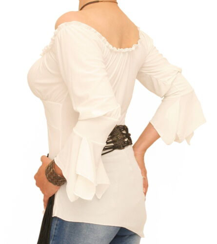 Off Top Sleeve Tunic New Shoulder Ivory The Bell 8wUgT1q