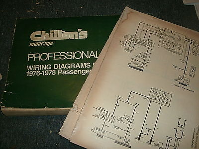 1976 DODGE DART PLYMOUTH VALIANT OVERSIZED WIRING DIAGRAMS ...