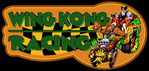 """80/'s Classic Big Trouble in Little China /""""Wing Kong Racing/"""" custom tee Any Size"""