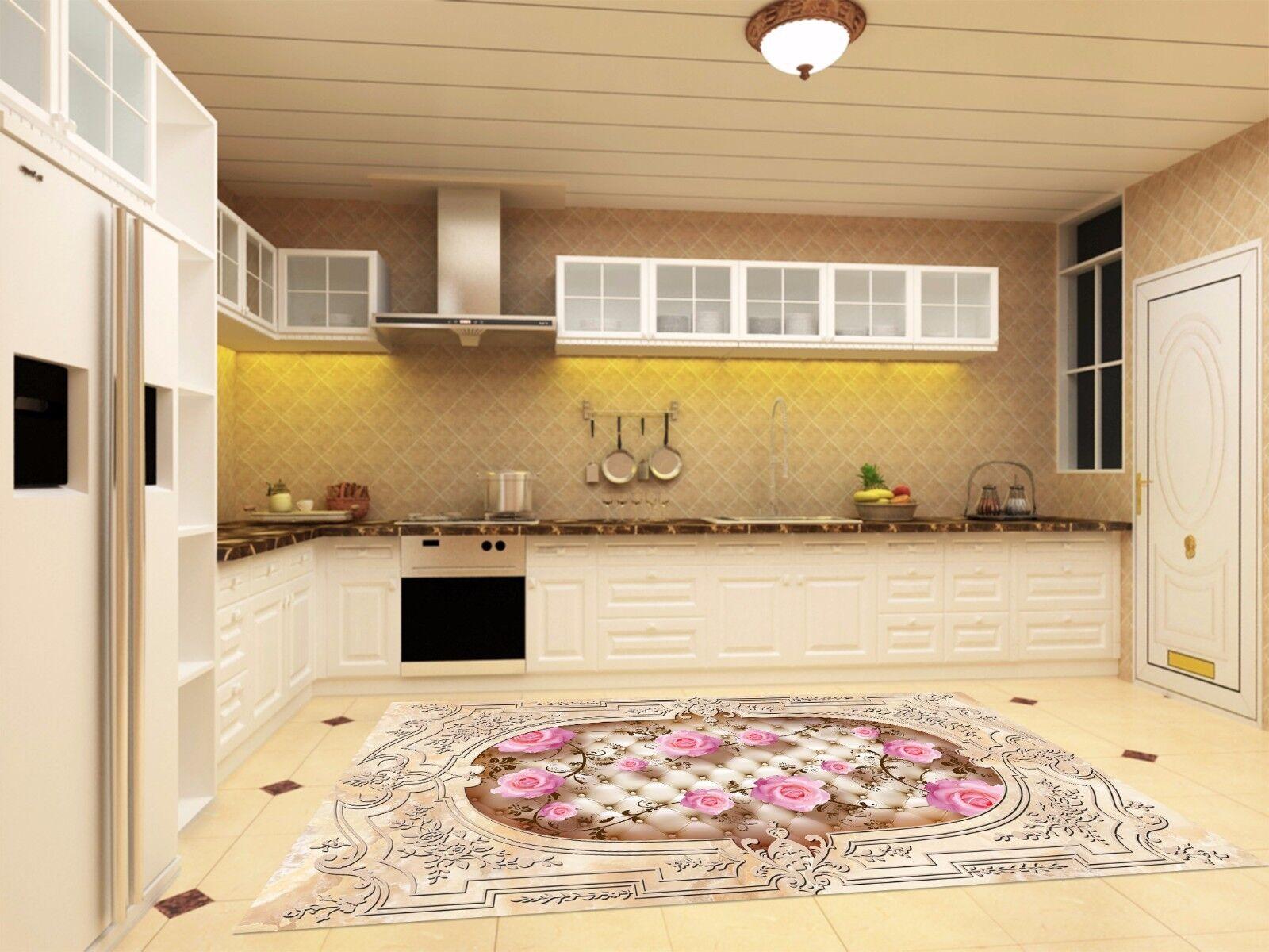 3D Dimensional Pattern 88 Kitchen Mat Floor Murals Wall Print Wall Deco UK Carly