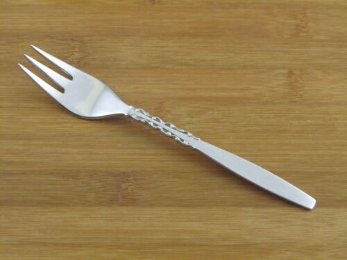 International Silver Alhambra Salad Fork Lyon Stainless Flatware Silverware