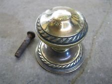 Original Reclaimed Brass Front Door Knob 0186