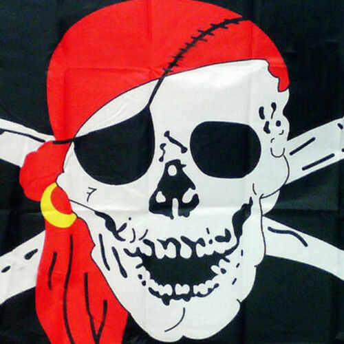 Pirate Flag Calico Flag Balloween Jolly Roger Skull Flag Polyester Banner