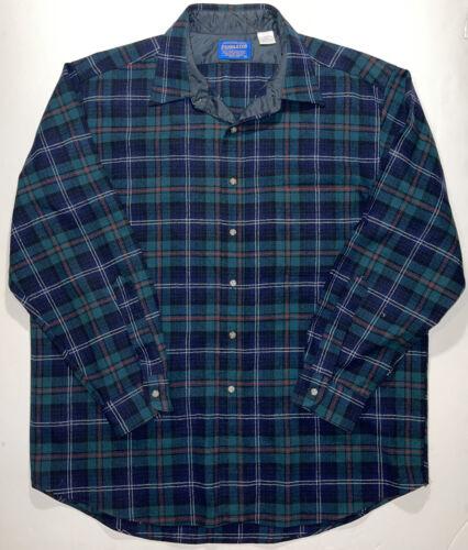 Vintage 80s Pendleton Mac Lean Tartan Flannel Shirt XL