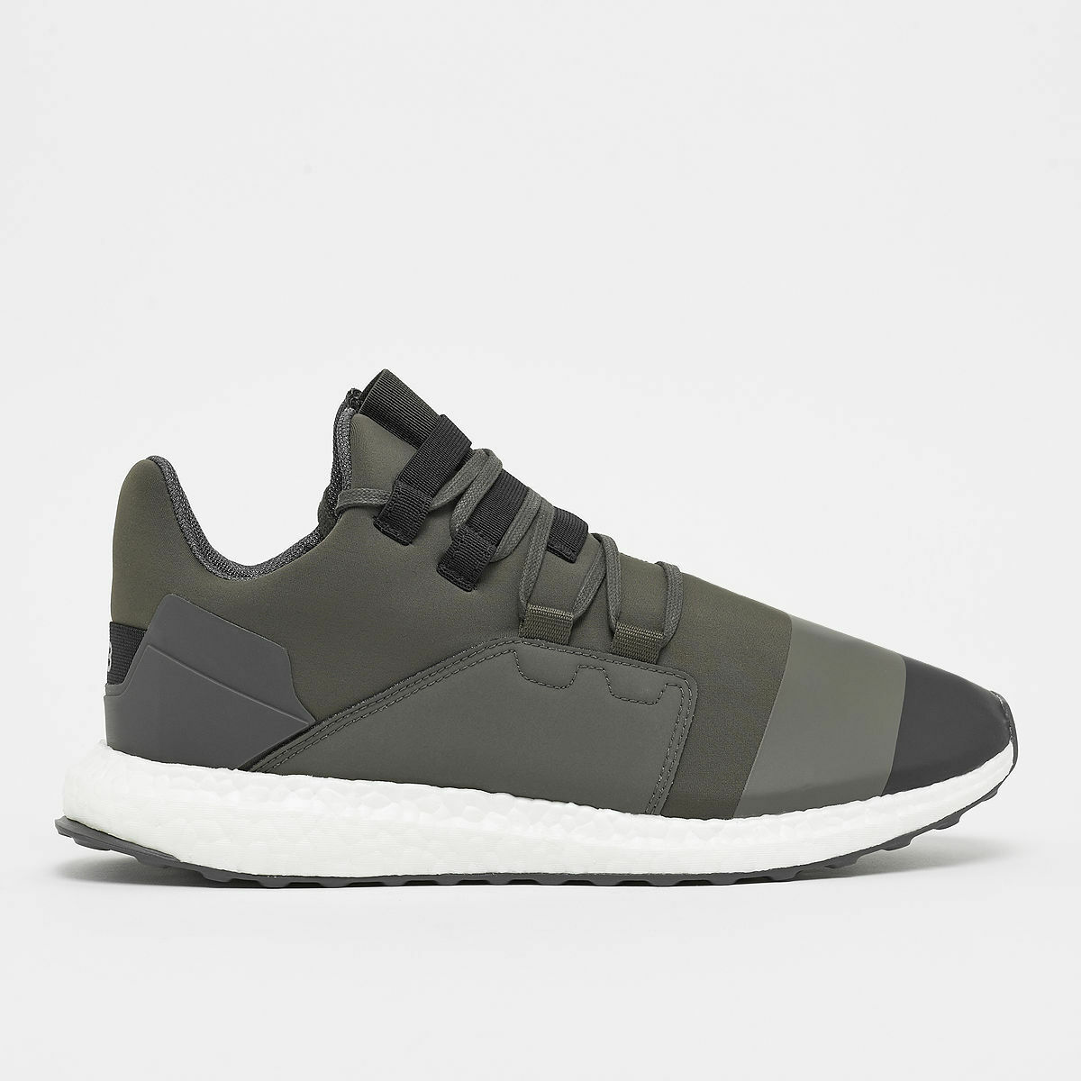 Y-3 Kozoko Low in Black Olive CG3161 Brand New In Box Free Shipping Comfortable