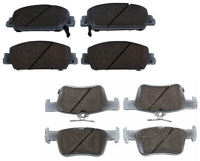 Beck-Arnley Premium Ceramic Front and Rear Brake Pads Kit For Mazda 6 2006-2013