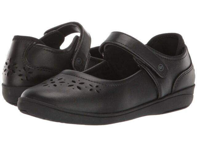 Stride Rite Black Leather Maryjanes