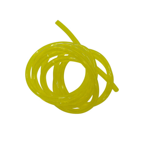 Petrol Fuel Gas Yellow Line Pipe Hose To Fits Trimmer Chainsaws Saw Blower