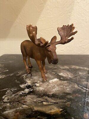 Schleich Moose Bull Germany 2002 Toy Figurine Ebay