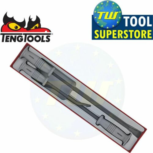 18 /& 22in TTXPB3A Tool Control System Teng 3pc Heavy Duty Pry Bar Tool Set 12