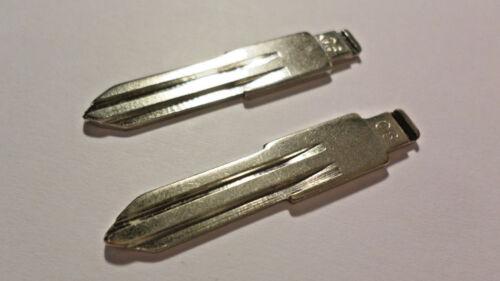 06 2x Schlüsselrohlinge Nissan Schlüsselrohlige Rohling Klappschlüssel