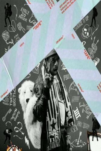Lil Uzi Vert Luv Is Rage 2 Cover Poster 2017 Album 14x21 24x36 T46