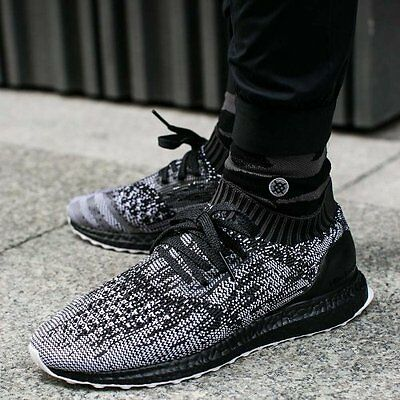 competitive price 52394 1a497 Adidas Ultra Boost Uncaged Black White Grey Size 11.5. S80698 nmd pk yeezy  | eBay