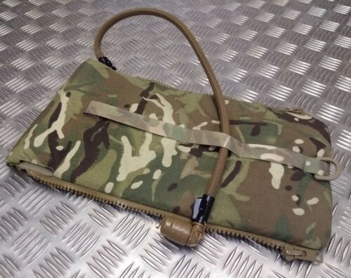 Genuine British Military Issue New Type MTP Multicam 3.0L Hydration Zip Pouch