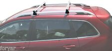 CROSS BARS CROSSBARS AERO ROOF RACKS FOR 2014 2015 2016 2017 JEEP CHEROKEE