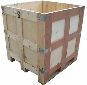 Exportable wooden shipping container box wood crate for Uses for wooden boxes