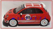 1/43 - Fiat Nuova 500 Abarth Assetto Corse - Rossa - Die-cast Motorama