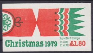 United-Kingdom-MH-47-Stamp-Booklet-Christmas-Booklet-Mint-MNH
