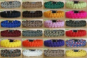 Image Is Loading 550 Paracord Bracelet Kit Huge Choice Of Colours