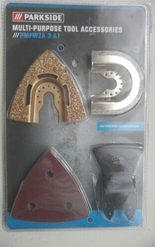 PARKSIDE Multi-Purpose Outil Accessoires PMFWZA 3 A1 par Parkside