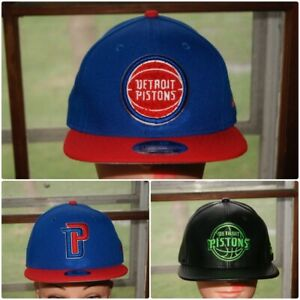 the best attitude 70447 7fa82 Image is loading New-Era-NBA-Detroit-Pistons-Snapback-Hat-Cap-