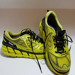 Hoka-One-One-Conquest-Mens-Runners-Yellow-Size-8-Previously-Owned-EUC