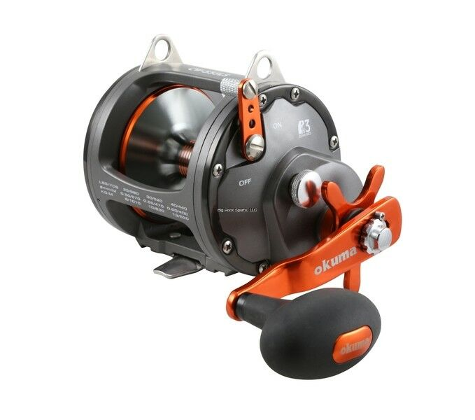 NEW  Okuma Coldwater Wireline High Speed CW553LS Trolling Reel