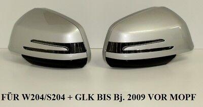 Independiente Spiegel GehÄuse Mit Led Blinker FÜr Mercedes W204 S204 X204 In Silber 775
