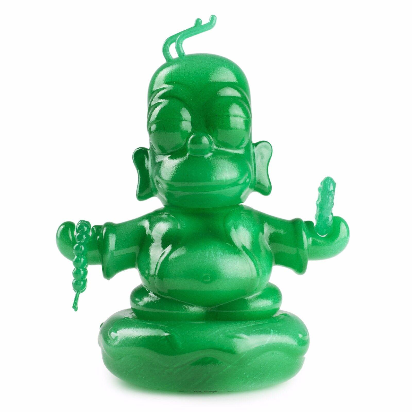 The Simpsons Jade Homer Buddha 3  Figure Kidrobot X Exclusive Release