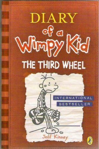 Diary of a Wimpy Kid Book - DIARY OF A WIMPY KID: THE THIRD WHEEL Book 7 - NEW