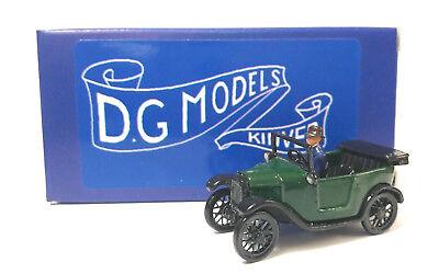 Ingegnoso Oo Gauge 1/76 4mm 1925 Austin Open Tourer Green Metal Model Made In England