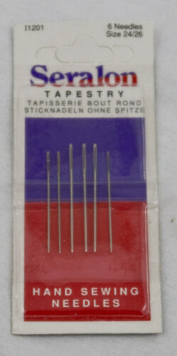 Tapestry Needles Size  24//26  pack of 6