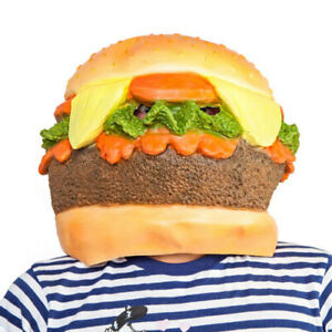BURGER-Highly-Detailed-Realistic-Madheadz-Party-Mask-Perfect-for-Party-Costume