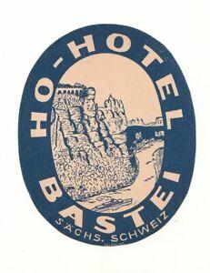 DDR-Werbe-Etikett-HO-Hotel-Bastei-A3690