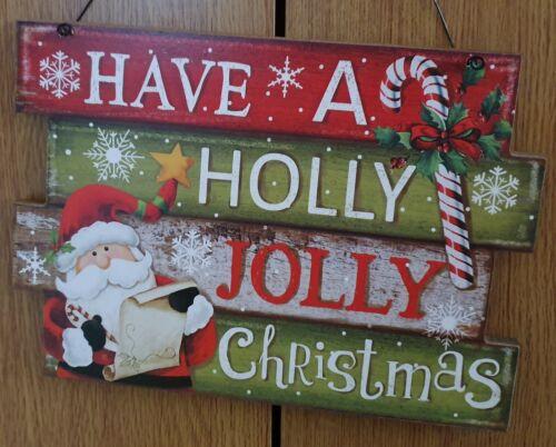Christmas wall hanging plaque