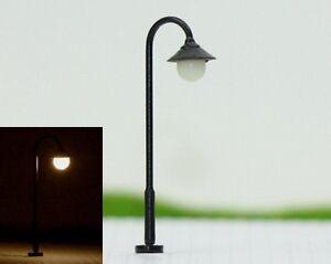 S115-10-Stueck-Strassenlampen-3-5cm-mit-LED-12-19V-Bogenlampen-Parkleuchten