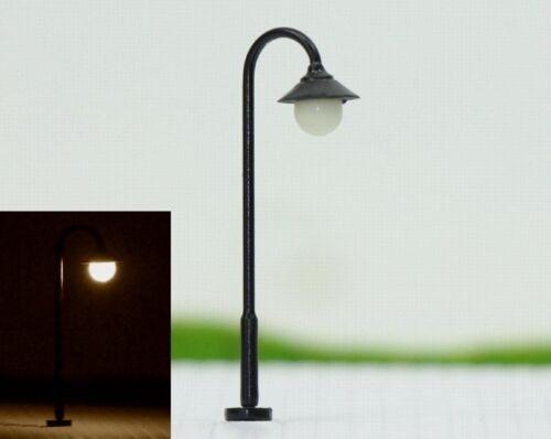 S115-10 Stück Straßenlampen 3,5cm mit LED 12-19V Bogenlampen Parkleuchten