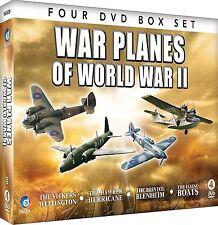 WAR PLANES OF WORLD WAR II NEW 4 DVDSET Wellington Hawker Hurricane Flying Boats