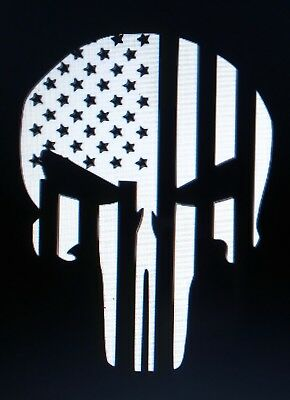 Punisher American Flag Ver1 Sticker Vinyl Decal Skull