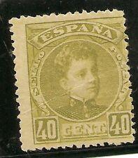 Edifil 250*  40 Céntimos oliva  Cadete  1901-1905 ( CORREO GRATUITO )   NL204