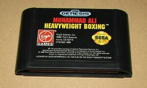 Muhammad-Ali-Heavyweight-Boxing-Sega-Genesis-Fast-Shipping-Authentic