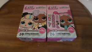 LOL! SURPRISE! Sterile Bandages - 2 Boxes of 20 - NEW!!