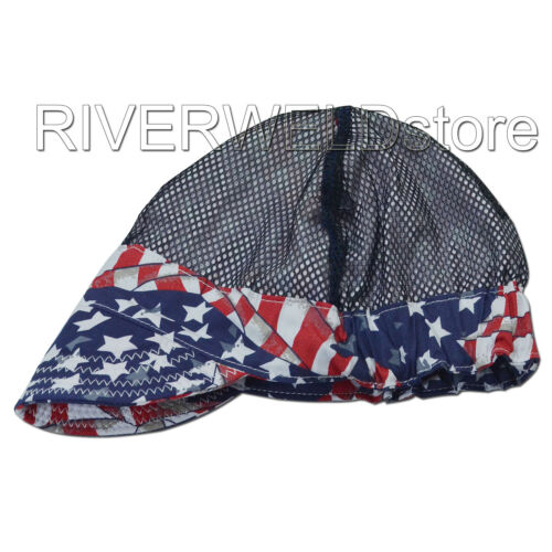 Fashion style Welding Caps Of Colorful Flag for Welders Perimeter 24 inch