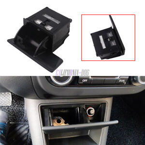 Black-Ashtray-in-Front-Control-Box-For-VW-2008-2015-Tiguan-5N-Golf-Plus