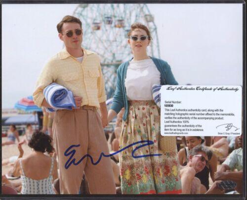 Emory Cohen Signed 8x10 Photo Leaf COA AUTO Autograph STOCK PHOTO