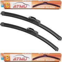 Fits M35h 12-13 (26+19) Windshield Wiper Blades Set Frameless Premium All-sea on sale