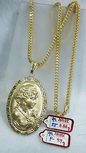 Gold-Authentic-18k-gold-necklace-with-pendant