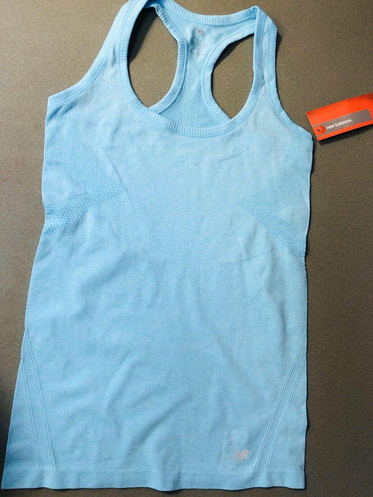 NEW BALANCE Women's Sleeveless ATHLETIC WORKOUT Gym T-shirt Size Medium