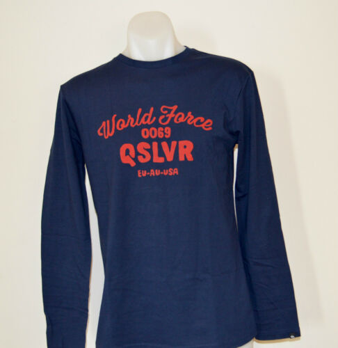 Quiksilver Mens Printed T Shirt XS NAVY BLUE SIZE NEW