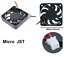9Blades Cooling Computer Fan 5010 50x50x10mm DC 3D Printer 2-Pin12V 0.08A